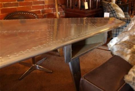 aviator wing desk ebay aviator wing tip desk plane aeroplane furniture 2