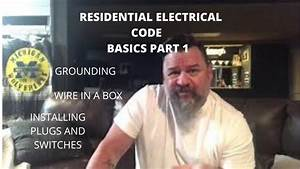 Electrical Residential Code  What Is The Code For Outlets