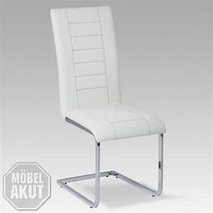 Stuhl Weiß Chrom : 4er set stuhl ruth 3000 swing freischwinger schwingstuhl in wei und chrom ebay ~ Indierocktalk.com Haus und Dekorationen