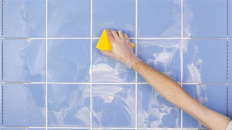 How To Tile A Shower by How To Rev Your Bathroom By Re Grouting Tiles Bt