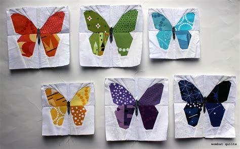 butterfly quilt pattern butterfly quilt block wombat quilts