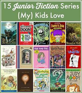 15 Junior Fiction Series  My  Kids Love