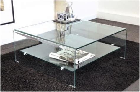 table basse carr 233 en verre ottawa design pas cher sur sofactory