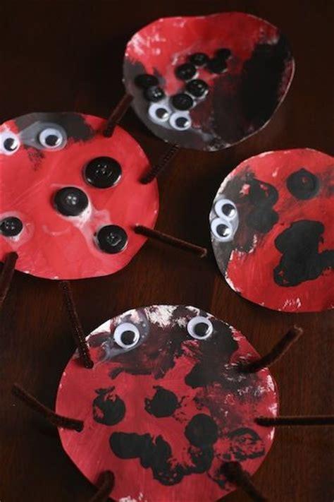 ladybug craft  toddlers crafts lady  fine motor
