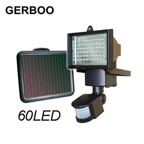 solar light led flood security solar garden light with pir