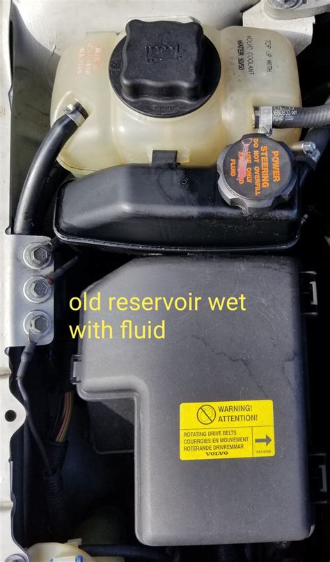 power steering fluid leakingnoise page  volvo forums