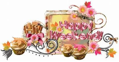 Weekend Happy Glitter Graphics Greetings Hi Graphic