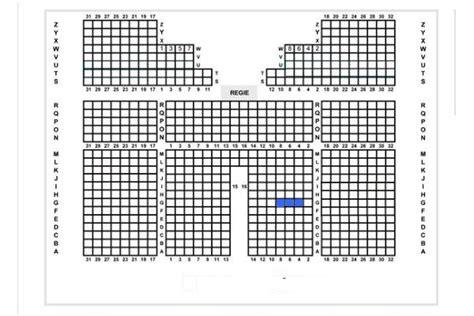 plan de la salle du palais des congr
