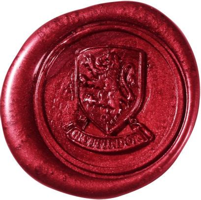 wax letter seal harry potter gryffindor wax seal 849241002936 item