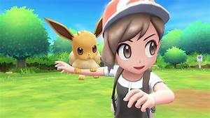Pokemon Let39s Go Pikachu And Eevee Female Protagonist