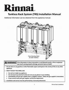Rinnai Tankles Water Heater Wiring Diagram