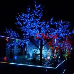 free shipping 60 led solar string lights gardens outdoor blue outdoor