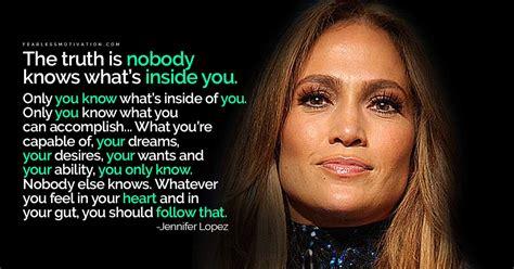 amazing jennifer lopez quotes  inspire