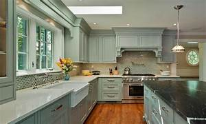 Hgtv images, blue gray kitchen with white cabinets white