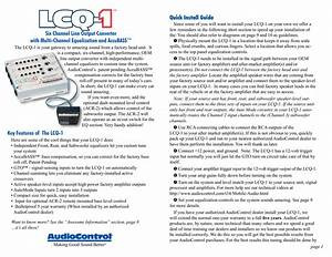 Audio Control Lc7i Install Guide