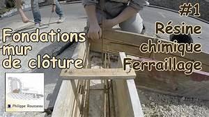 Ferraillage Fondation Mur De Cloture : faire semelle de fondation mur de cloture en parpaing 1 ~ Dailycaller-alerts.com Idées de Décoration