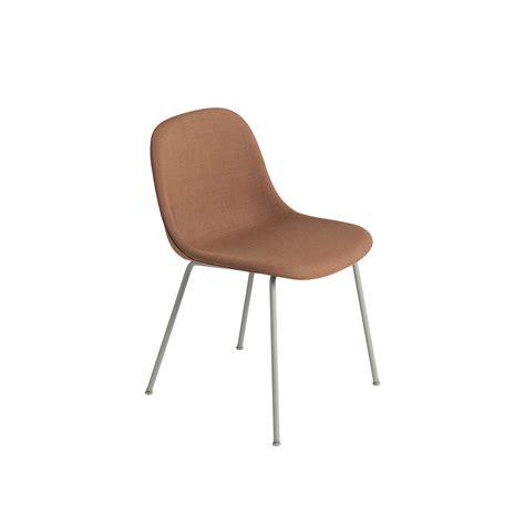 chaise sans pied muuto chaise fiber sans accoudoirs pieds