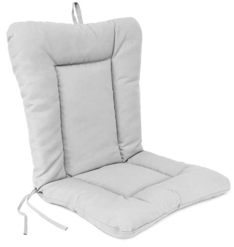 wrought ironl patio chair cushion knife edge