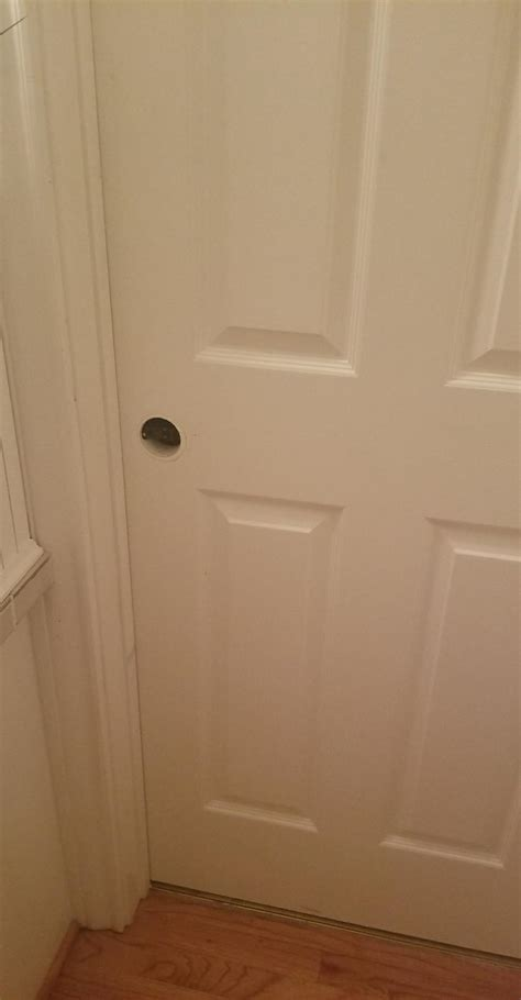 Bedroom Door Is Locked From Inside by Locked My Bathroom From The Inside Doityourself
