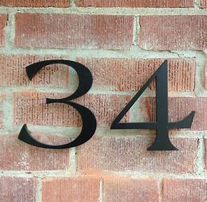 modern house numbers modern exterior With exterior house letters