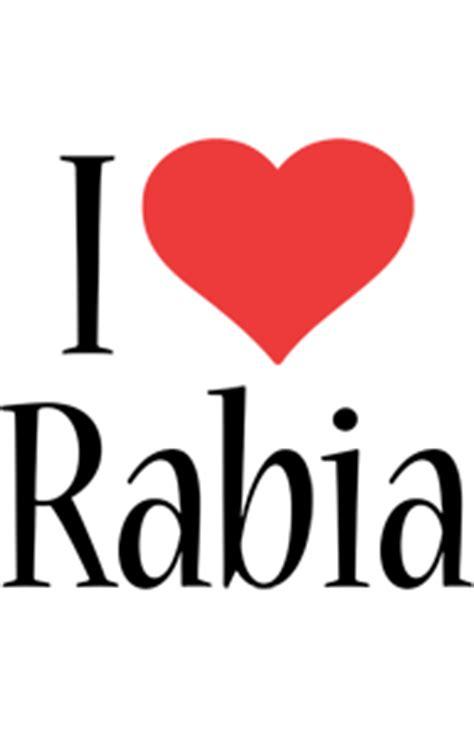rabia logo  logo generator  love love heart