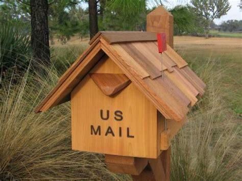 build wooden mailbox plans woodworking birch