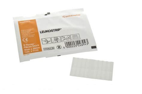 Leukostrip Adhesive Hypoallergenic Wound Closure Strips