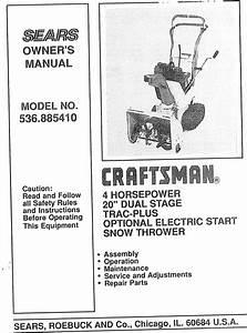 Sears 143 804062 Users Manual