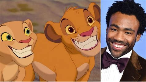 donald glover simba donald glover will play simba in disney s live action the