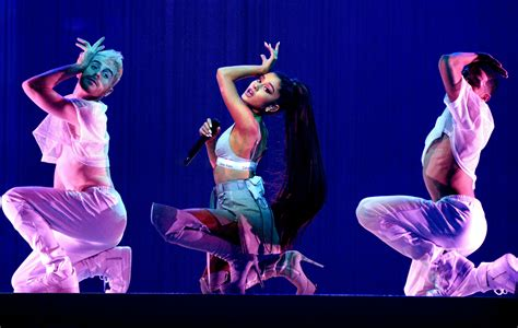 Ariana Grande says she's