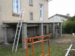 Terrasse Avec Muret : terrasse beton hauteur nos conseils ~ Premium-room.com Idées de Décoration