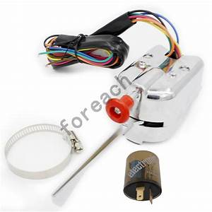 12volt Universal Street Hot Rod Turn Signal Switch For