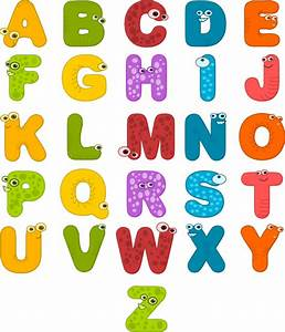 alphabet letters clip art at clkercom vector clip art With free letter art pictures