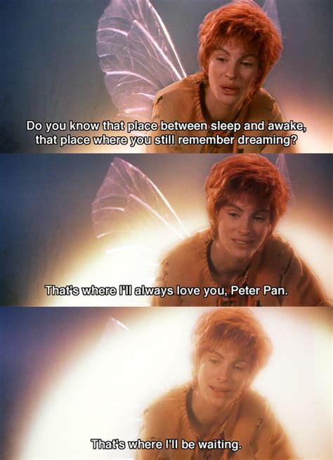 Pete Cbell Meme - julia roberts as tinkerbell in hook movie quotes pinterest robins favorite movie quotes