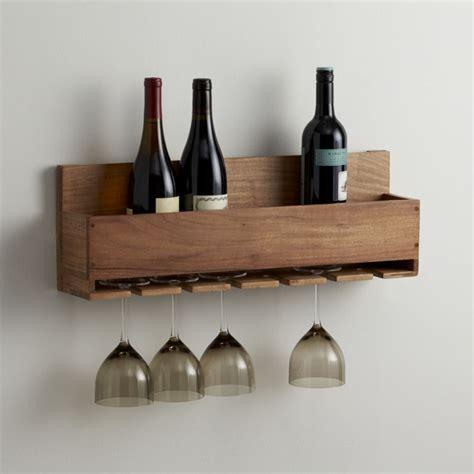 wine glass rack wine stem rack crate and barrel