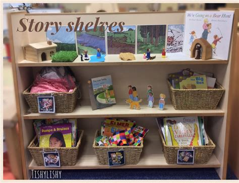preschool classroom areas updated story shelves in my early years classroom 978