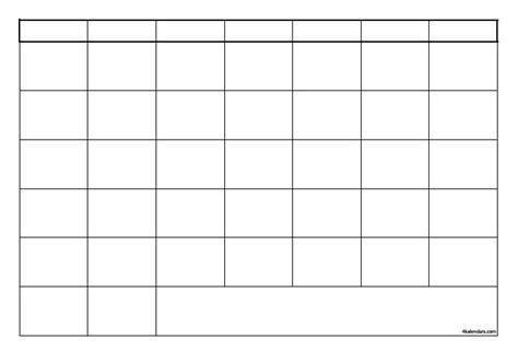 4 Month Blank Calendar Template Autos Post 4 Month Calendar Template 2015 Autos Post
