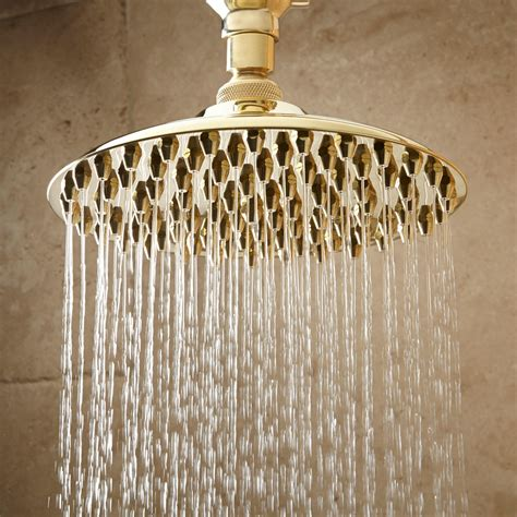 Shower Heads by Bostonian Rainfall Nozzle Shower With S Type Arm