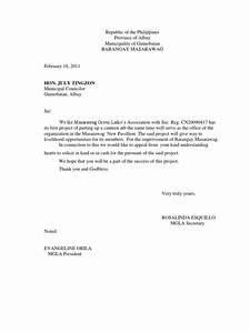 Solicitation, Letter