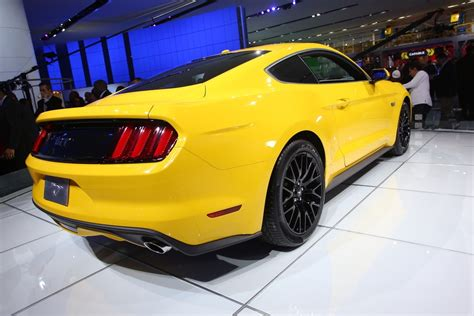 detroit  neuer ford mustang automobil blog