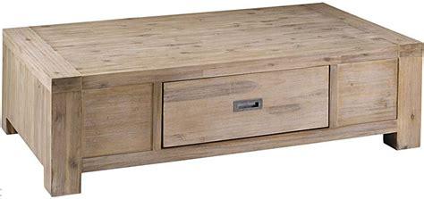 meuble de rangement bureau conforama table basse 1 tiroir nevada en acacia