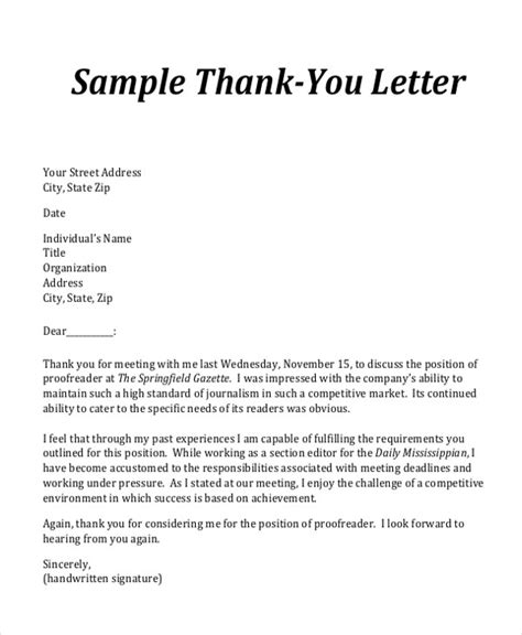 sle business letter format with thank you letter to for meeting 28 images business