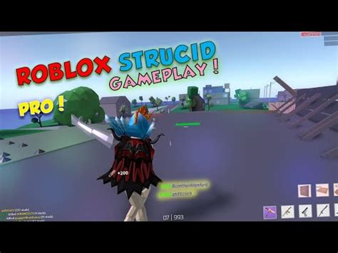 roblox strucid gameplay  pro player youtube