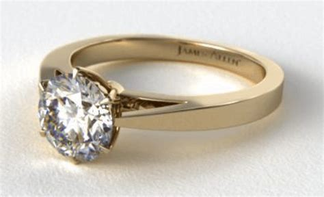 18k engagement ring what are the differences between 10k 14k and 18k yellow gold