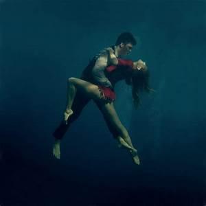 Passionately Dancing the Tango Underwater