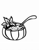 Soup Coloring Pages Rice Bowl Drawing Getdrawings Drp Popular Coloringhome sketch template