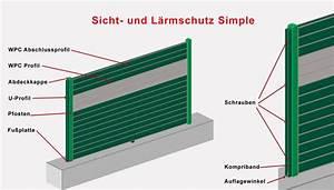 Lärmschutzwand Höhe Berechnen : sicht und l rmschutz simple konfigurator ~ Themetempest.com Abrechnung