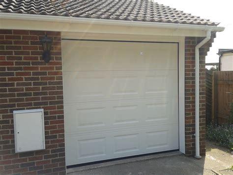 single garage door automatic sectional garage door upvc finish