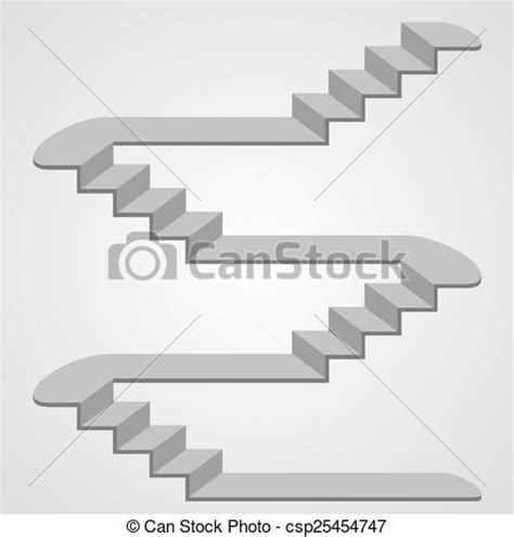 vecteur eps de 3d vecteur escalier escalier 3d art