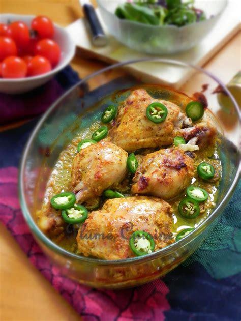 poulet au curry au four une plume dans la cuisine
